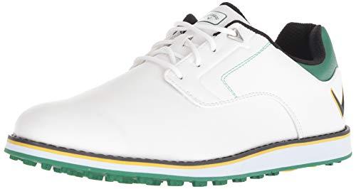 Callaway Men's LaJolla SL Golf Shoe, White/Green, 10.5 M US