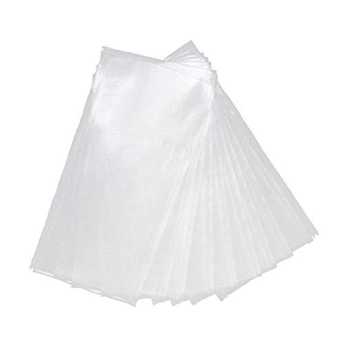Ndier 50Stk PVA Bag Carp Fishing Tackle Non Rückstand schnell auflösende PVA Taschen Lösliche Baits Sport Produkt