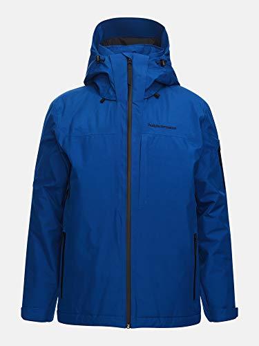 Peak Performance Maroon Gore-Tex Veste de Ski Homme, Bleu, FR : S (Taille Fabricant : S)