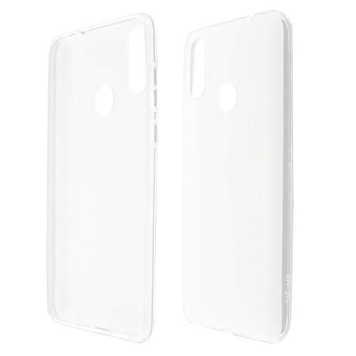 caseroxx TPU-Hülle für ZTE Blade 10 / Blade 10 Prime / V10, Handy Hülle Tasche (TPU-Hülle in weiß-transparent)
