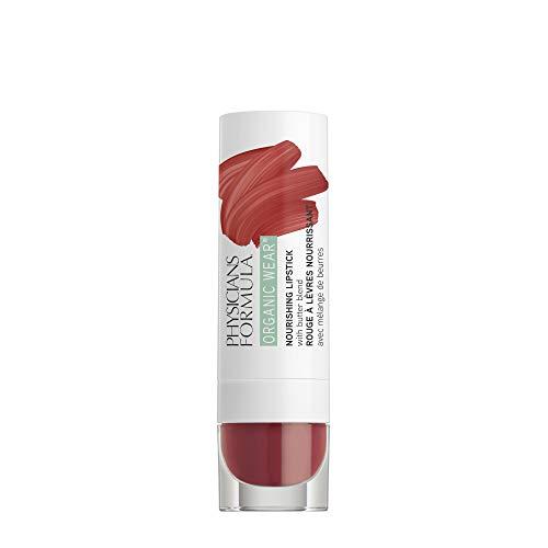 Physicians Formula Organic Wear Nourishing Lipstick, Spice, 0.15 Ounce