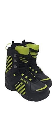 Suntasco Snowboardschuhe für Snowboarden, Schneeschuhe, Neongelb und Schwarz, Größe 46