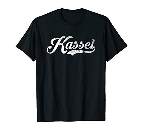 Kassel Stadt Vintage Design - Cool Old School T-Shirt