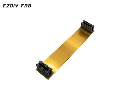 EASYDIY Nvidia SLI Flexibles Kabel 100mm,SLI Brücke, Kompatibel mit Asus VGA-Grafikkarte Brücke Crossfire Wire Ribbon Kabel Verbindungsstecker