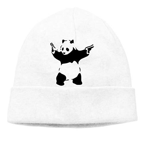 HUANANAN Banksy Panda Adult Hip Hop Breakdance Muts Unisex Zacht Katoen Hedging Cap