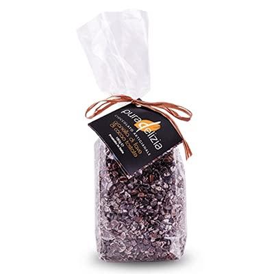 Fave di cacao tostato Ecuador 160gr | Pura Delizia | Fava di cacao | Fave di cacao Tostate | Grue di Cacao | Semi di Cacao | Box regalo | Confezioni Regalo | Cioccolato