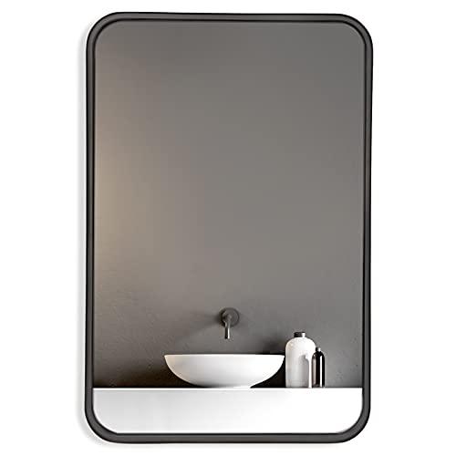 HOWOFURN Wall Mount Mirror, 24x36 Rectangular Bathroom Mirror, Wall Mirror for Bathroom, Stainless...