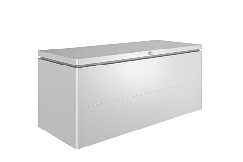 Biohort LoungeBox Designbox silber-metallic 200 x 84 x 88,5 cm (Größe 200)