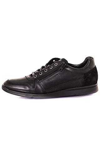 Redskins Chaussures Baskets en Cuir Croustill 2 Noir+Noir - Noir - Taille 41