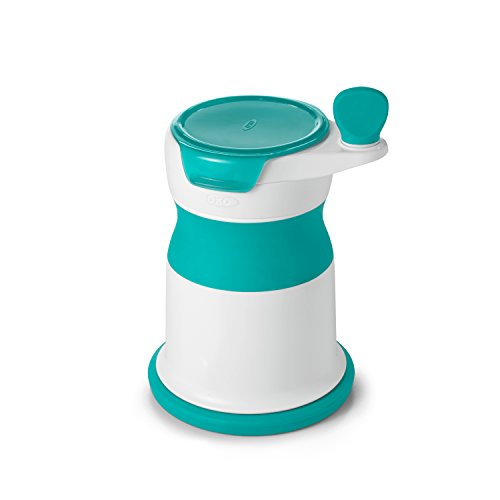 OXO Tot Mash Maker Baby Food Mill, Teal