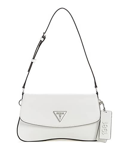 Guess Damen HANDBAG Handtasche, weiß, Einheitsgröße