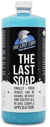 The Last Coat The Last Soap - Lavare, disintossicarsi e sigillare Tutti in Uno! Miglior Lavaggio pulitore &Foam per la Vostra Auto!Top Sealer, Cera e Pulitore Hai Bisogno di Super Shine Fluid
