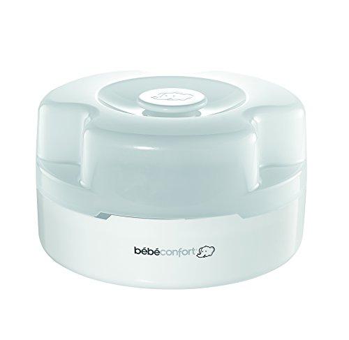 Bébé Confort Stérilisateur Express pour Micro-ondes, Stérilisation des Biberons à Froid et à Chaud