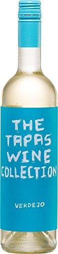 6x 0,75l - 2018er - The Tapas Wine Collection - Verdejo - Rueda D.O. - Spanien - Weißwein trocken