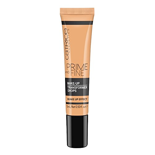 Catrice - Primer - Prime And Fine Make Up Transformer Drops - Wake Up Effect
