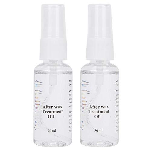 After Wax Spray, Post Waxing Treatment Oil Ontharingsolie Verzachtende behandeling Spray Wax Residue Remover (2 stuks x 30 ml)