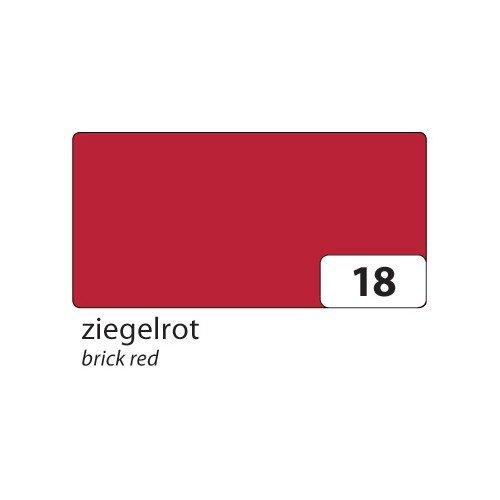 Preisvergleich Produktbild folia 6718 Tonpapier,  (B) 500 x (H) 700 mm,  130 g / qm,  Ziegelrot