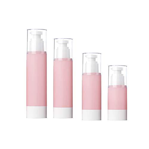 Bocotoer Reisflessen Reiscontainer Lekvrij BPA Gratis Reizen Navulbaar Knijpbare Set Shampoo Douchegel Lotion Set van 4