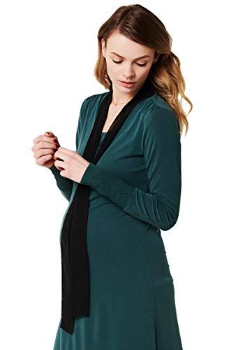 ESPRIT Still-Kleid aus Jersey-Stretch mit Chiffon-Schal