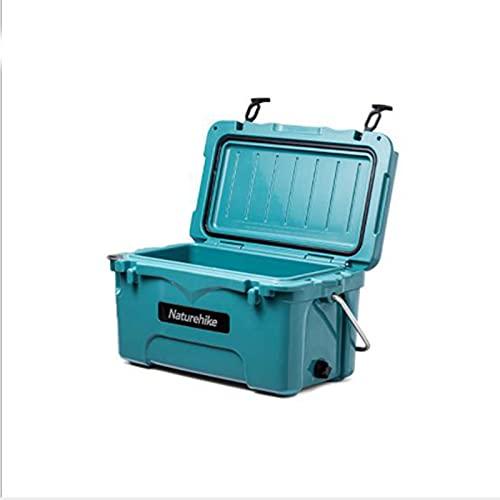 Refrigeradores de camping, refrigeradores al aire libre con gran capacidad para almacenamiento en frío, cubos de hielo Cajas de conservación de alimentos a bordo, refrigeradores portátiles 60-80h
