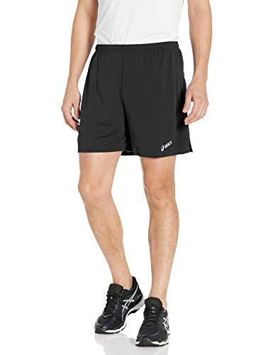 ASICS Rival II - Pantalones cortos para hombre - TF3086, 2X Big, Negro