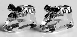 Swarovski Baby Shoes, Rhodium - 626863