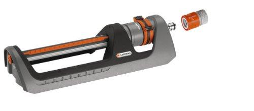 GARDENA Premium 8151-20 - Aspersor cuadrado 250 rociador para regar superficies rectangulares y cuadradas de 105-250 m², alcance 7-17 m, diseño moderno y robusto