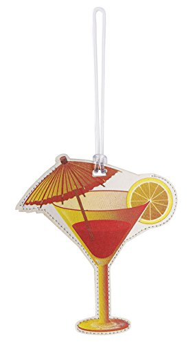 Lewis N. Clark Spree Luggage Tag, Umbrella Drink - 7527