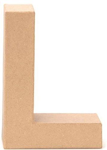 Papp-Buchstabe L 17,5x5,5cm