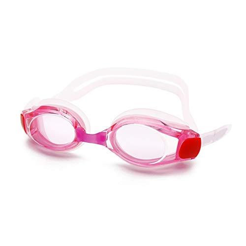 MHP zwembrillen anti-condens- en uv-beschermingsbrillen roze