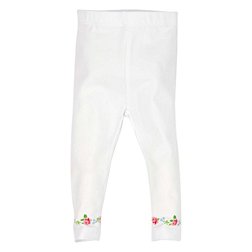 BONDI Legging ´Alpenglück´, Weiss 98 Tracht Baby Mädchen Artikel-Nr.85720