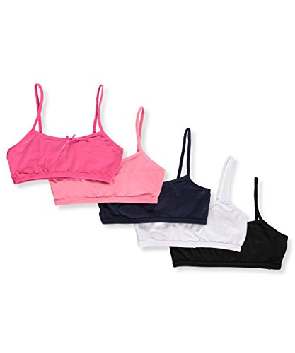 Simply Adorable Big Girls 10 Pack Bralettes