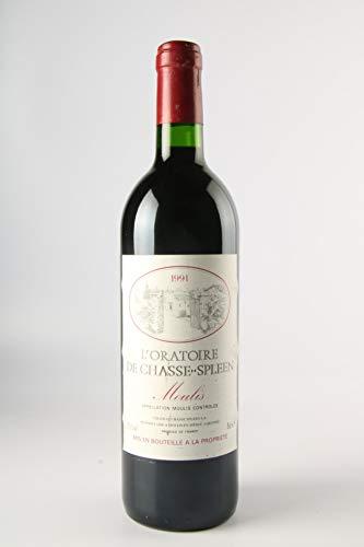 L'ORATOIRE DE CHASSE SPLEEN 1991 - Second vin