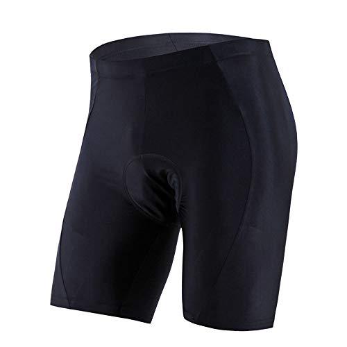 ZXWNB Pantalon de cyclisme 3D 3D en silicone pour l'été Noir Taille XXL