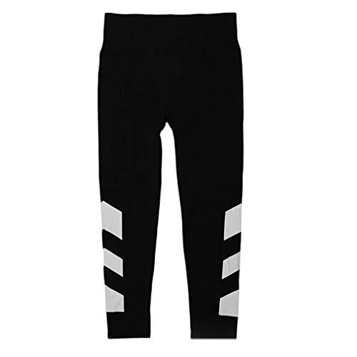 2017 Lente Zomer Modieuze Dames Hoge Taille Broeken Sport Comfortabel Bedrukt Hardlopen Yoga Strakke broeken Leggings zwart en wit