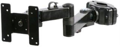 Bracket Pole Mount Double Arm