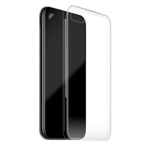 Custodia Per iPhone 5 5S 5SE, Silicone Trasparente, Cover Gomma Morbida, Case TPU Per iPhone 5 5S 5SE
