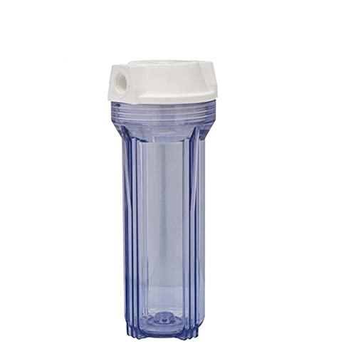 agua destilada 1pcs Piezas de filtro de agua Botella de filtro de agua 10Incn High 1/4 pulgada Conector para purificador de agua Máquina del sistema de ósmosis inversa Filtro de agua para el fregadero