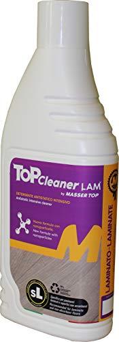 Top Cleaner LAM - Limpiador antiestático para la limpieza de suelos laminados y otras superficies duras no absorbentes (1 botella)