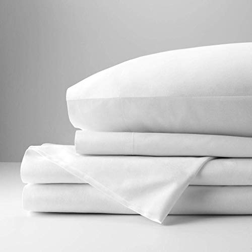 Fitted Flat Sheet Pillow Case Queen 4PC Dark Grey Microfiber Polyester 1200TC