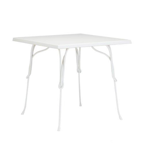 Vigna mesa 80x 80cm Color Blanco