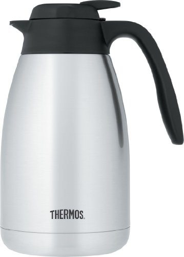 Thermos Vacuum Insulated Stainless Steel Carafe, 51-Ounce