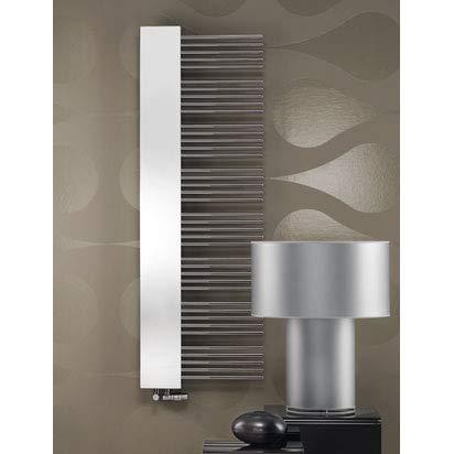 Zehnder Yucca Specchio Specchio radiatore Bagno YMEL-180-60/ UD Elettrico, radiatori da Bagno: Bianco RAL 9016 - ZY7X1258B100000