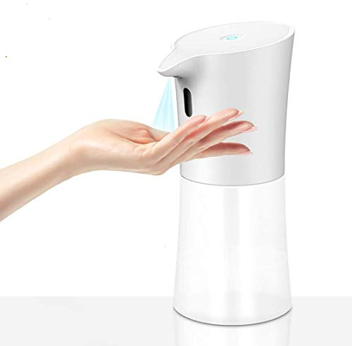 naack Dispensador Automático de Alcohol sin Contacto. Dispensador Automático de Alcohol con Sensor, para el hogar, la Oficina, Hoteles, restaurantes