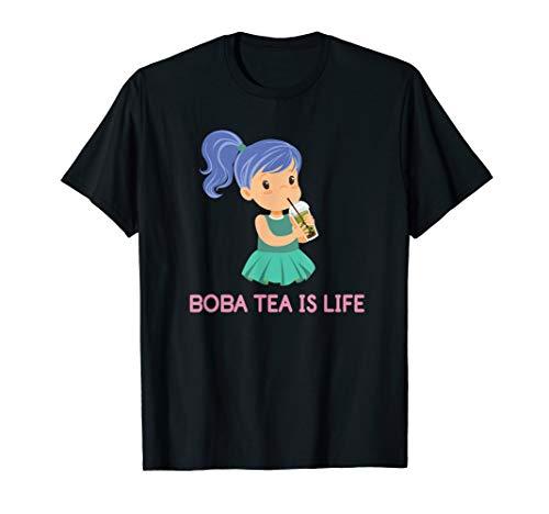 Bubble Tea Inspired Design for a Boba Tea Lover T-Shirt