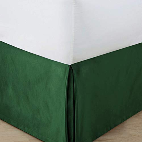 LA-BOOR Bed Skirt Hotel Quality, Iron Easy, Wrinkle and Fade Resistant,C,135x200cm