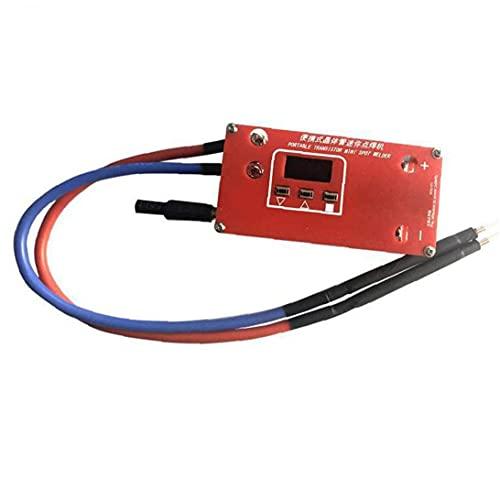 Conector Mini Spot Soldder DIY Máquina de soldadura ABS Red Portable 18650 Batería Varias fuentes de alimentación de soldadura