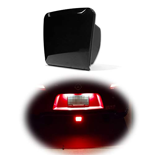 GTINTHEBOX Smoked Lens Led Rear Fog Brake Light Kit Compatible with 2009-up Nissan 370Z,13-17 Juke Nismo