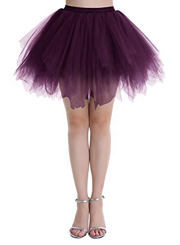 Dressystar Ballet Tutu Tüll Petticoat Partyjurk balletdrok tule in vele kleuren en 4 maten naar keuze