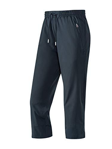 Joy Sportswear 3/4-Hose Martha für Damen, Reisverschlusstaschen, ideal für Fitness und Outdoor-Aktivitäten Normalgröße, 44, Night